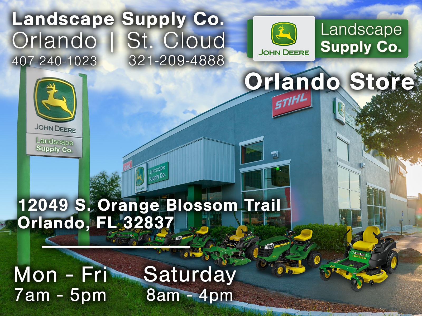 Sod Supplier In Orlando Fl John Deere At Landscape Supply Co