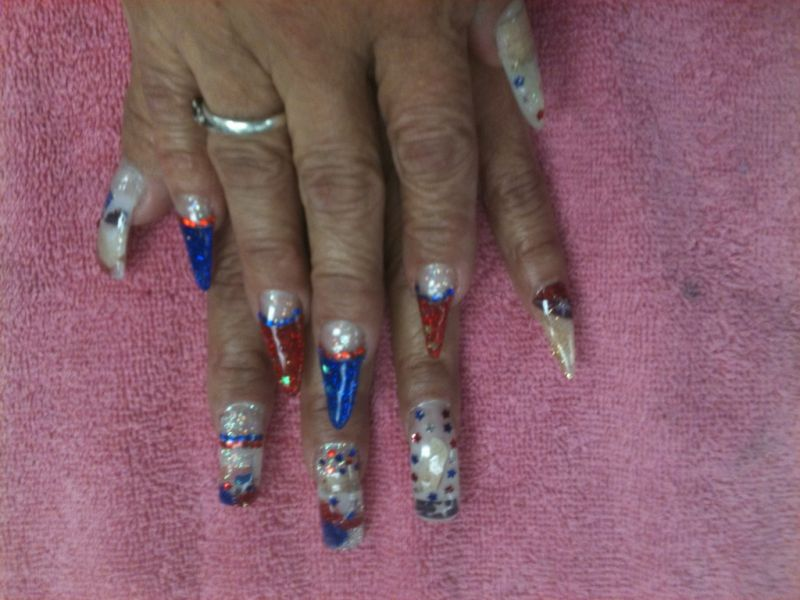 Fine Foxy Nails Reno Pattern - Nail Paint Design Ideas ...