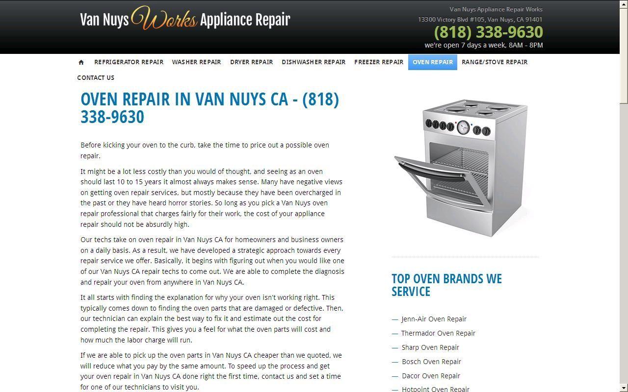 Home Appliance Repair In Van Nuys Ca Van Nuys Appliance