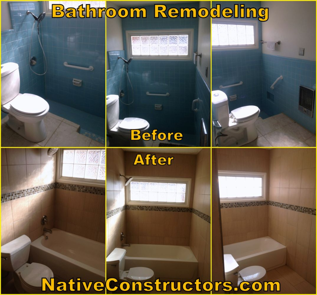 all types of remodels carpentry concrete drywall ceramic tile http nativeconstructors com https www facebook com nativeconstructors https twitter com nativeconstruct for free estimate call 505 320 5769 remodeling