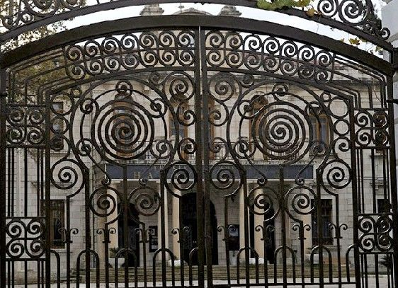 Architectural Decorative Wrought Iron Metal Work
