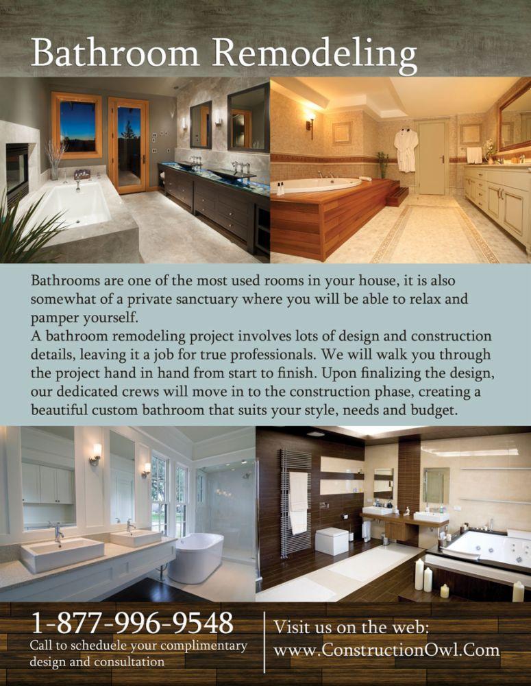 Kitchens Bathrooms Remodeling In Encino CA Construction Owl - Bathroom remodeling ventura county