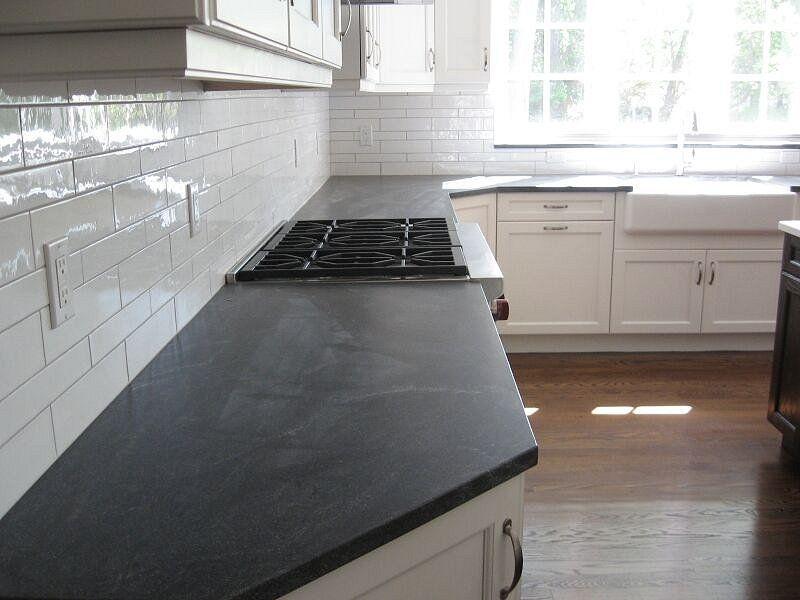 Soapstone counters great kitchen granite countertops for Kitchen depot little falls nj