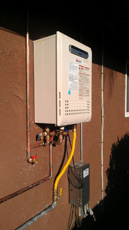 Tankless Water Heaters and Whole House Water Filtration in San