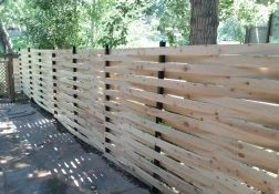 6 Basket Weave Type Fence In Arvada Co