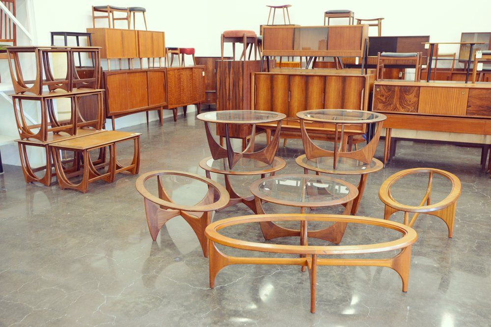 Berkeley Mid Century Furniture, Berkeley Danish Modern Furniture