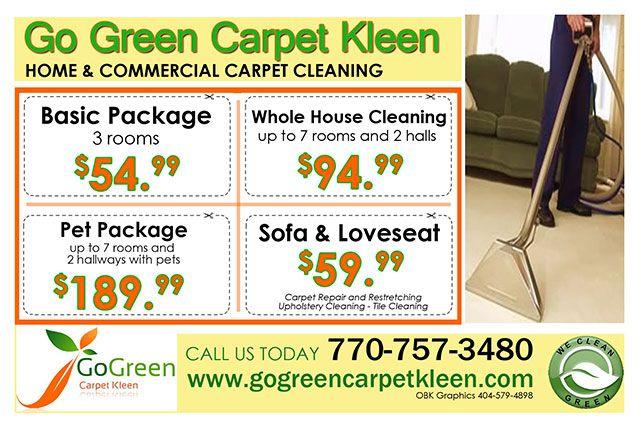 Carpet Cleaning Experts In Smyrna Ga Go Green Carpet Kleen