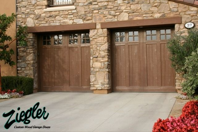 Designer Garage Doors The Ziegler Family Has Been Building Wood Garage Doors  In Orange County Since 1969. As The Value Of Land Surged So Have The ...
