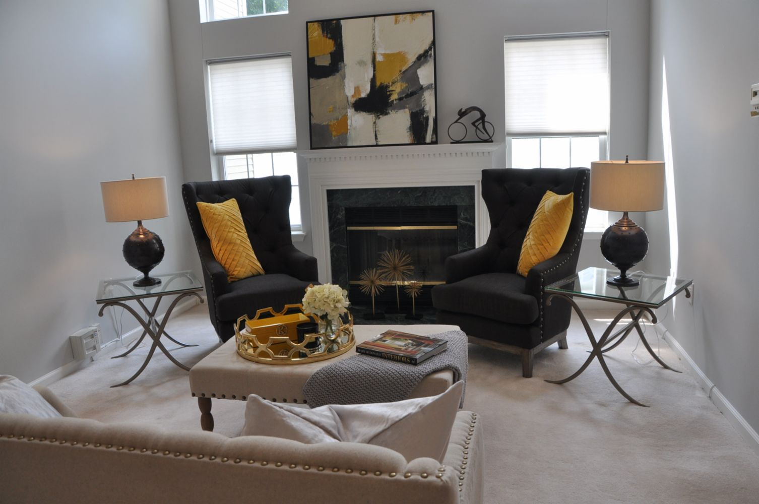 Highlands New Jersey Vacant Staging