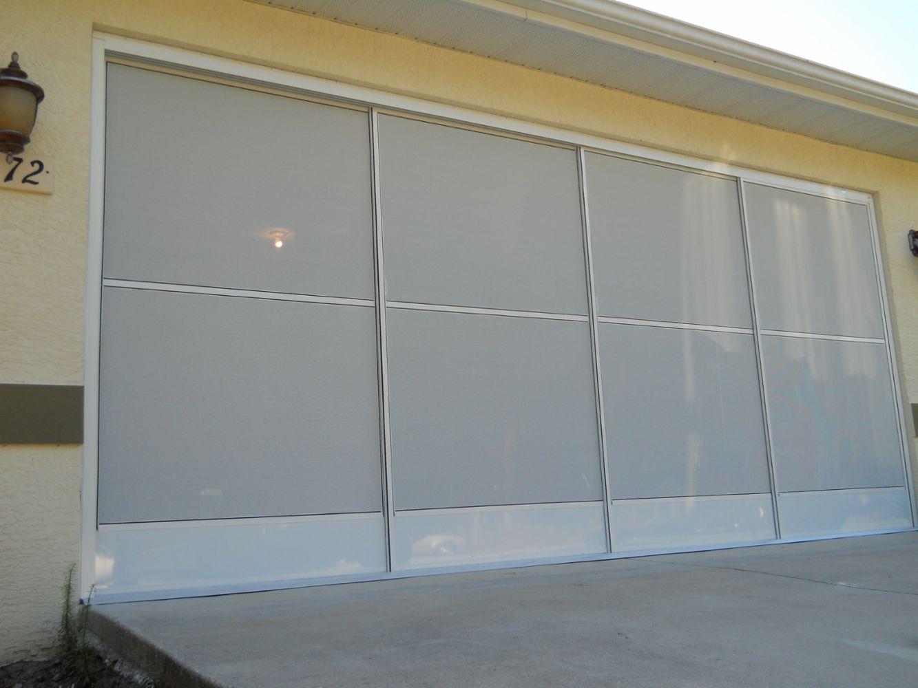 Garage Sliding Screens Vinyl Window Reroll In Port