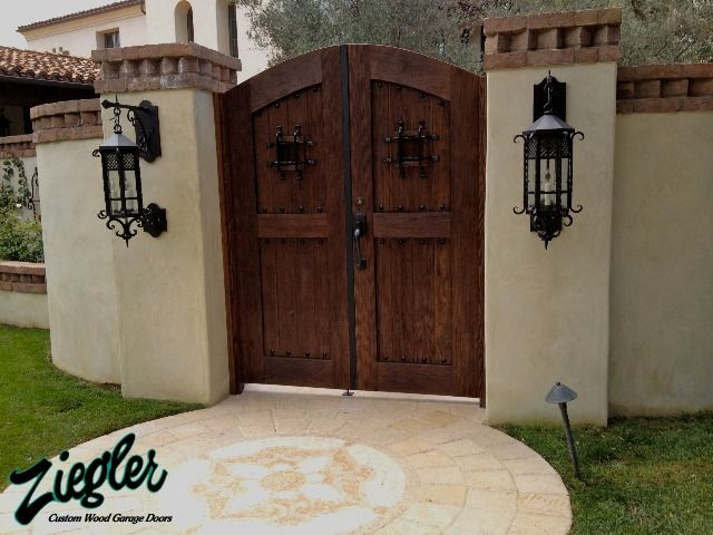 Elegant Garage Doors The Ziegler Family Has Been Building Wood Garage Doors In  Orange County Since 1969. As The Value Of Land Surged So Have The  Expectations In ...