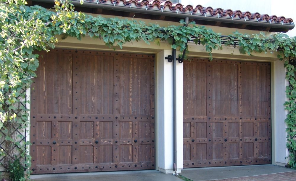 Wood Garage Doors In Santa Ana Ca Ziegler Doors Inc
