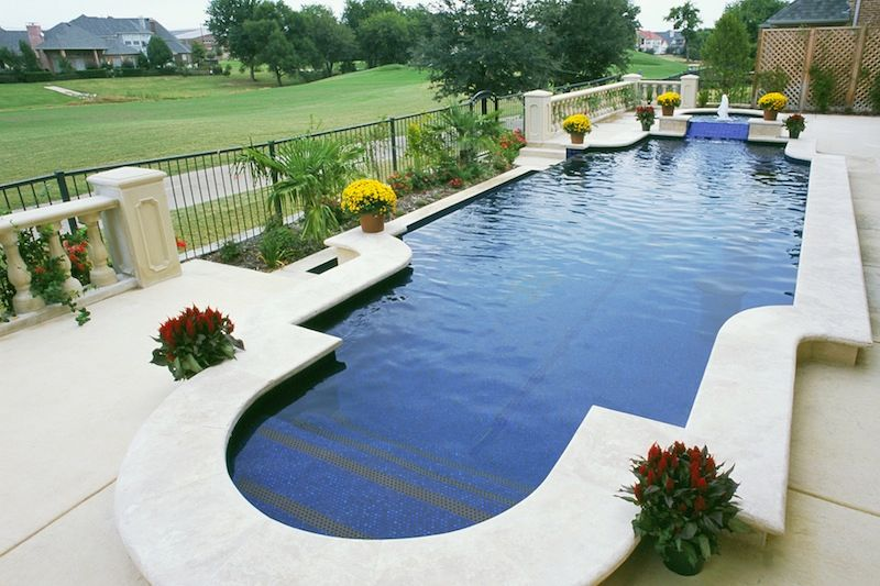 Pool Design And Construction In Plano Tx Riverbend