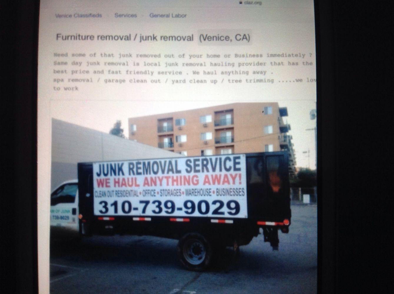 Westwood Junk Removal Service