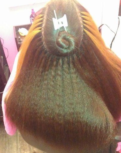 Hair extensions specialist in berkeley ca sublime hair full head of brazilian knots pmusecretfo Gallery