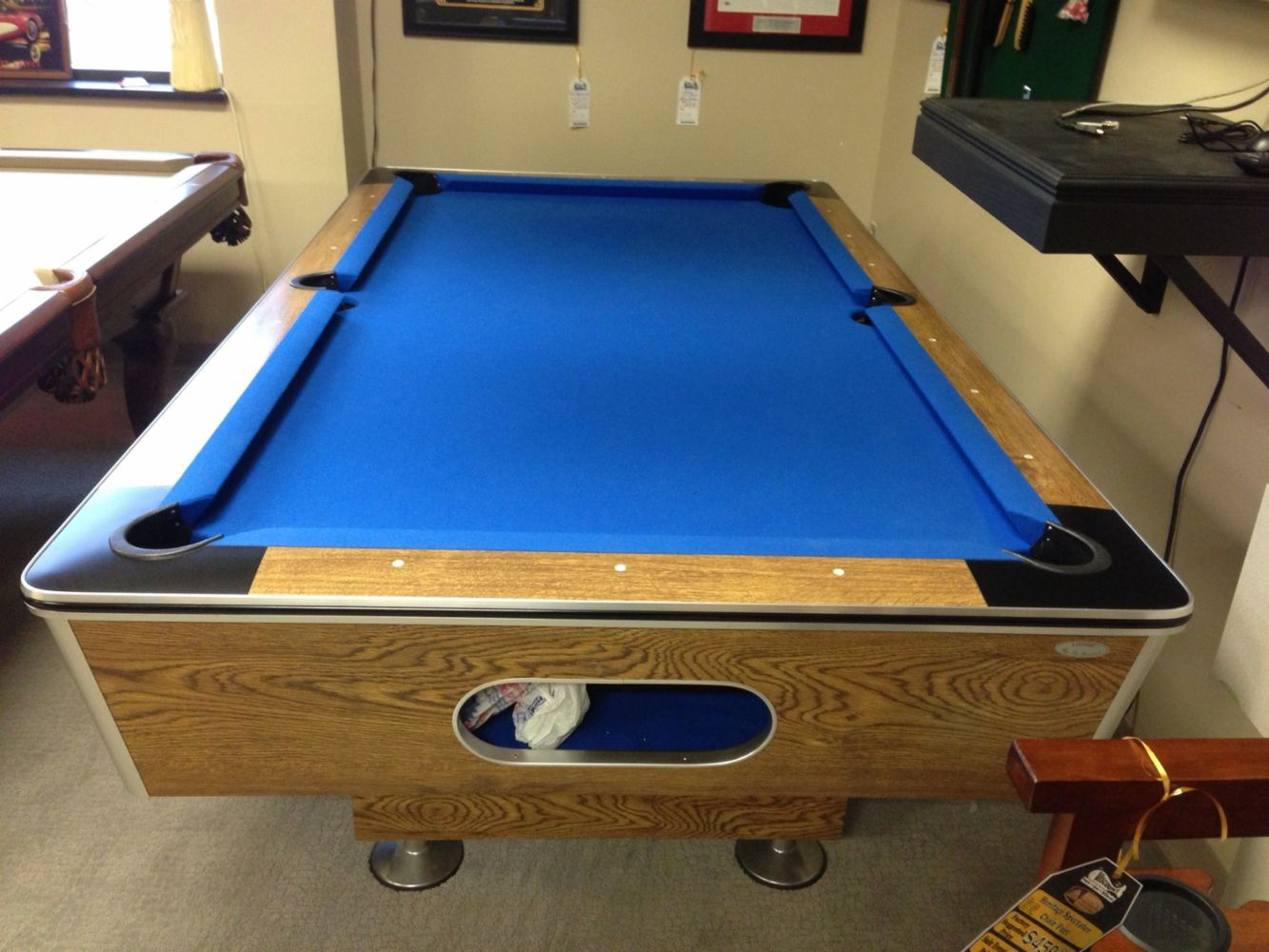 Pool Table Service New Tables Preowned Tables In Madison Heights - Electric blue pool table