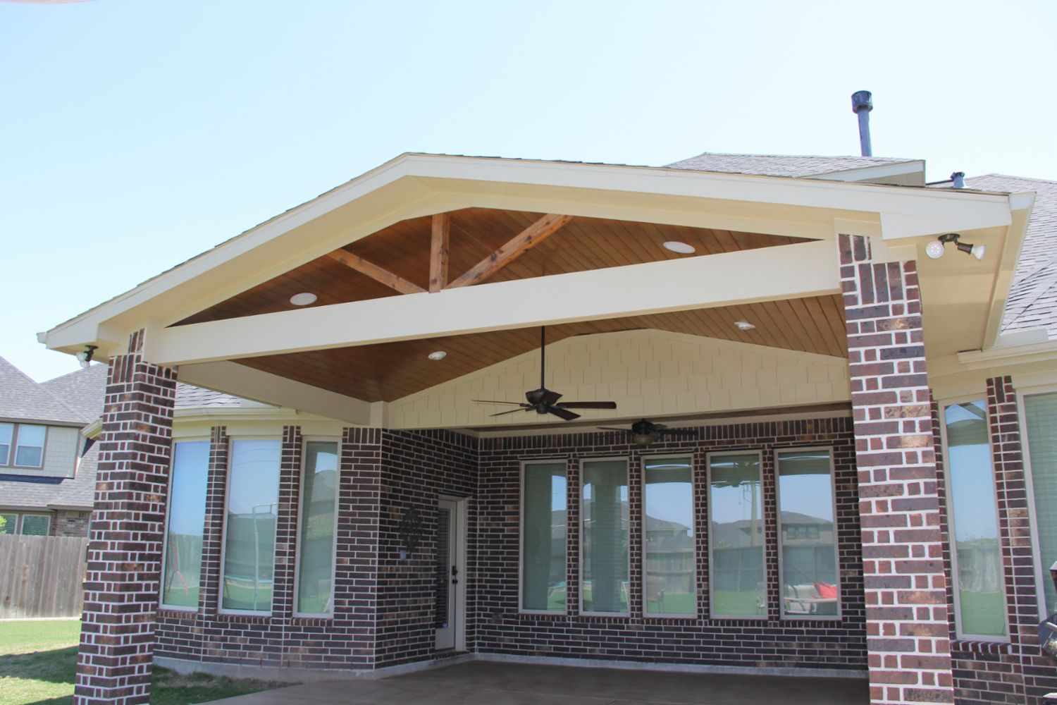 Patio Covers, Outdoor Kitchens, Fire Features in Katy, TX ...