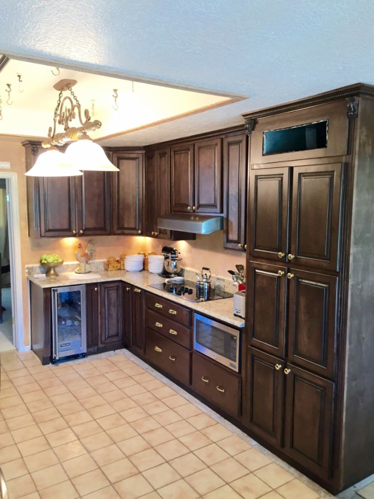 Kitchen Cabinetry And Stone Counter Tops In El Paso Tx Dlc Custom