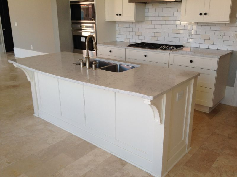 Cabinetry counter tops tile and more in fernandina for Granite countertop support requirements