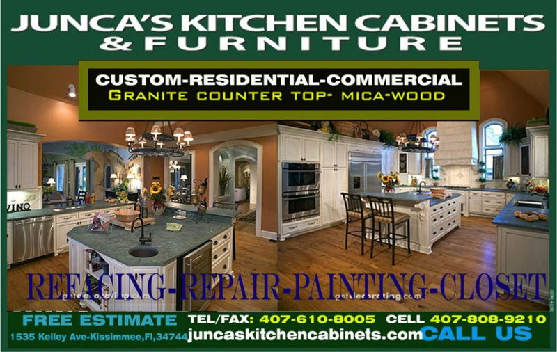 Kitchen Cabinets In Kissimmee Fl Juncas Kitchen Cabinets