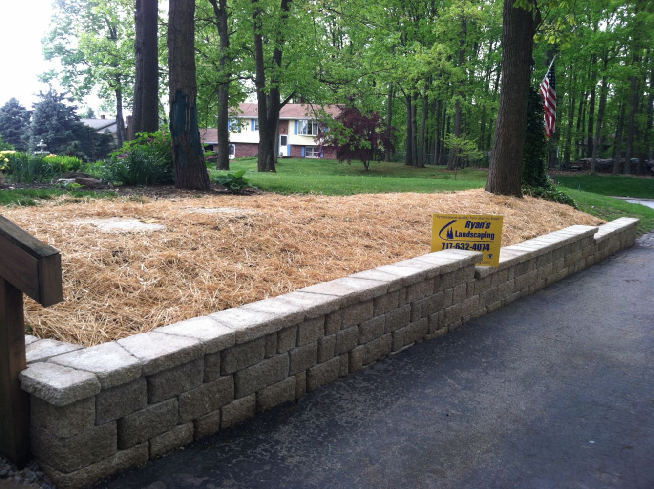 professional landscape and hardscape construction in hanover pa