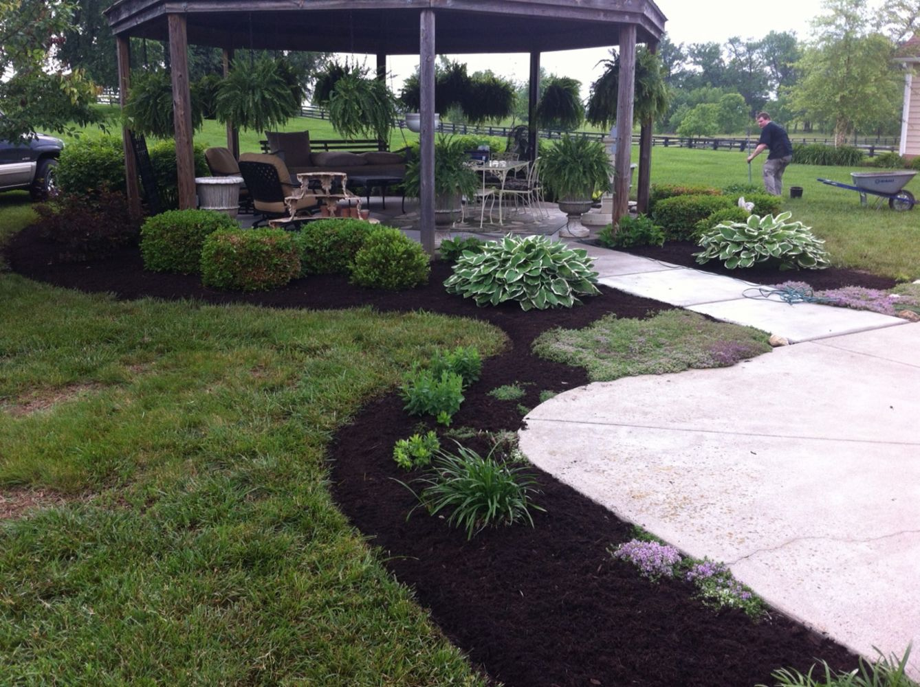 Landscaping ideas designs and services in wilmore ky for Garden design llc