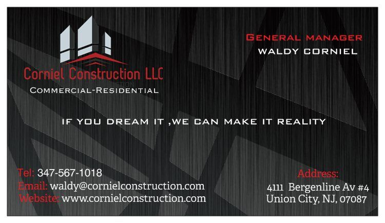 Home renovation in union city nj corniel construction llc if you can dream it we can make it reality reheart Choice Image