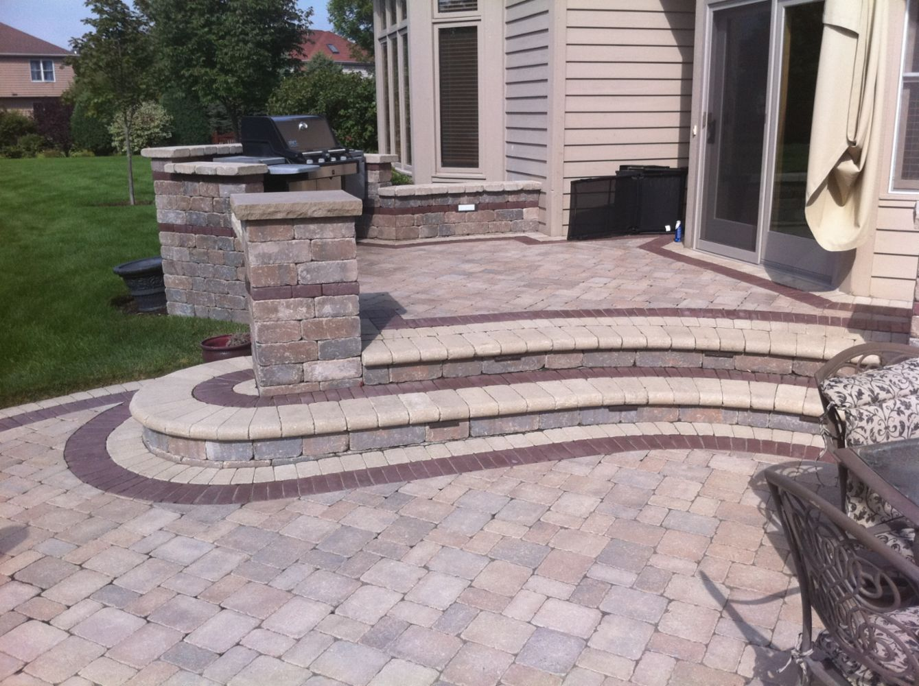 Landscaping, Paver In Naperville, IL
