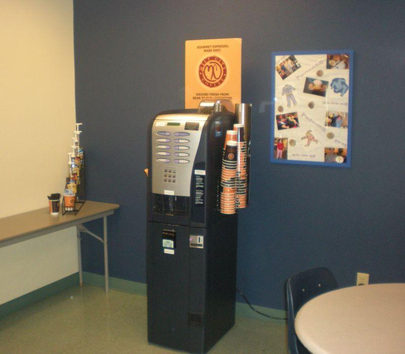 starbucks coffee vending machine