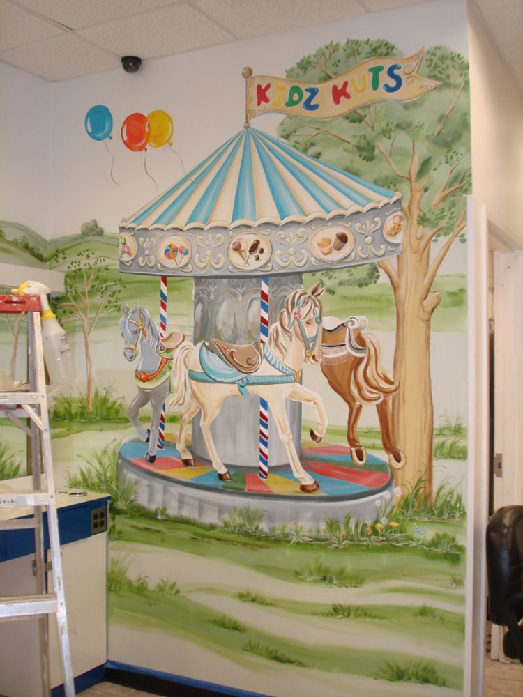 Custom Murals and Decorative Painting in Parlin NJ Dots Of Arts LLC