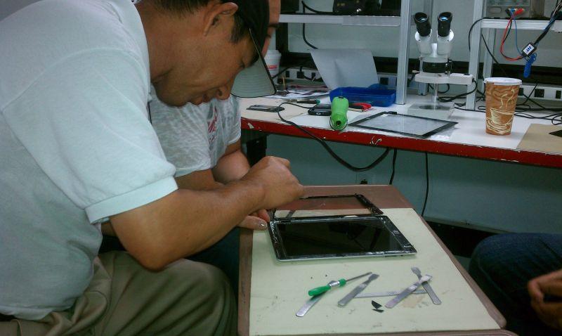 cell phone repair technician