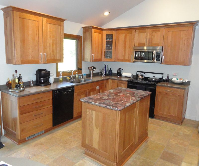 Cabinet Refacing For Less In Lake Villa Il Nu Look Kitchens