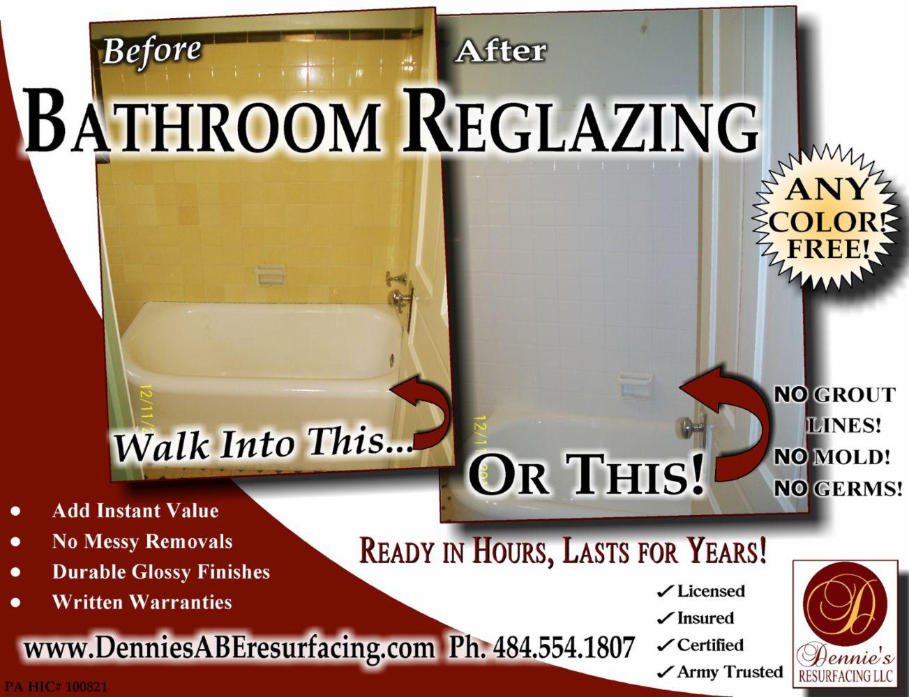 Reglazing Refinishing Don\'t Replace It, Resurface It! in Bethlehem ...