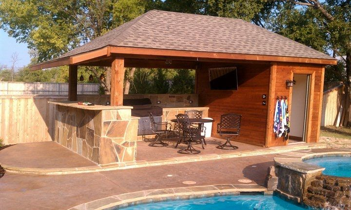 Custom Outdoor Wooden Structure in Dallas, TX - DFW Custom Decks