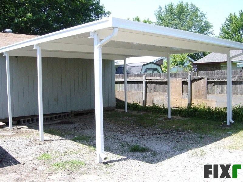14x24 Metal Carport : Aluminum patio covers carports pergolas built with