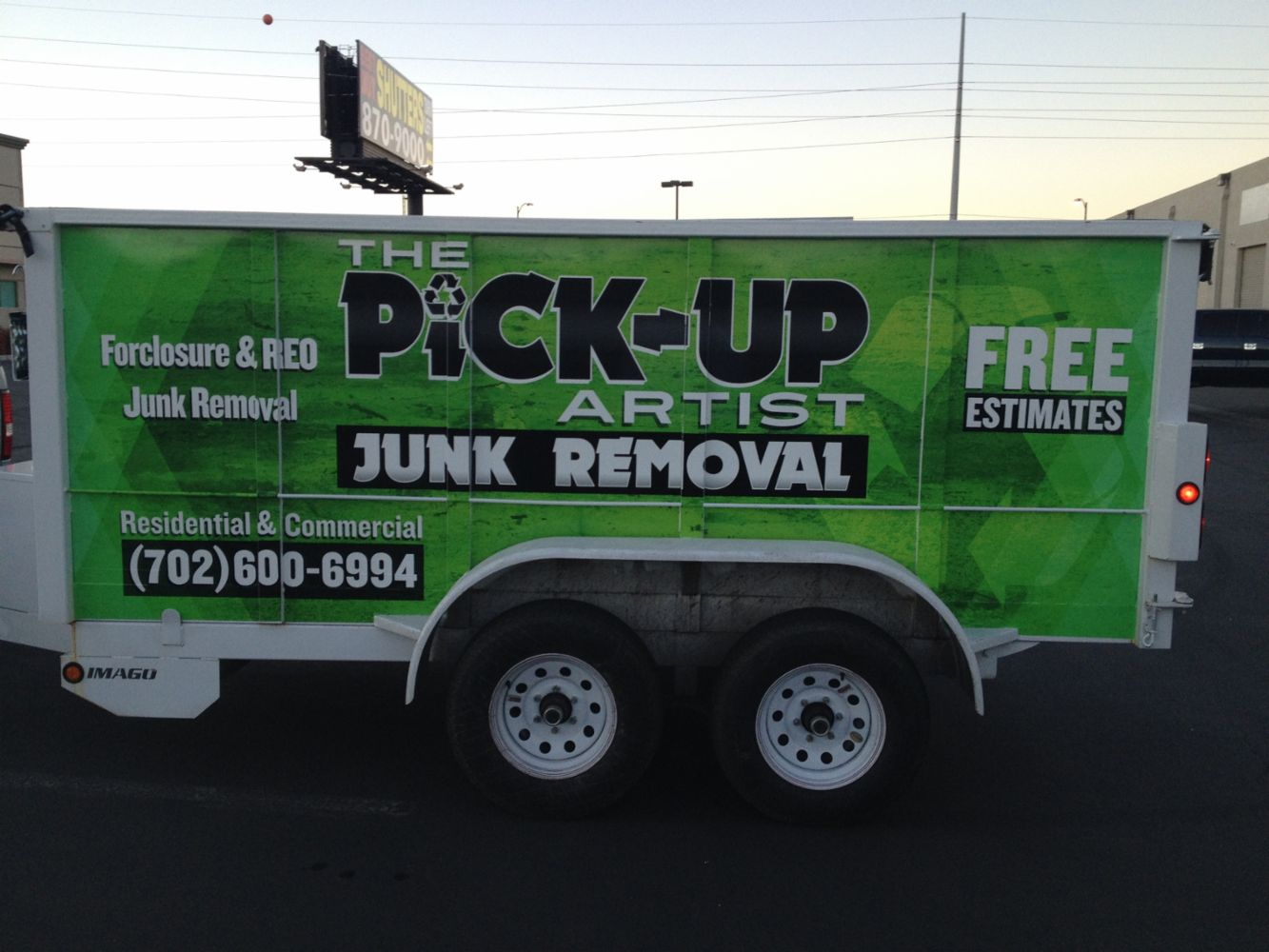 Junk Removal in Las Vegas, NV - The Pick Up Artist Junk Removal