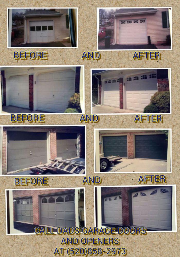 Garage door repair installation in maricopa az dads for Casa grande garage door repair