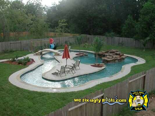 Pool Remodel Phoenix Fair Pool Remodeling And Repair In Peoria Az  We Fix Ugly Pools Inspiration