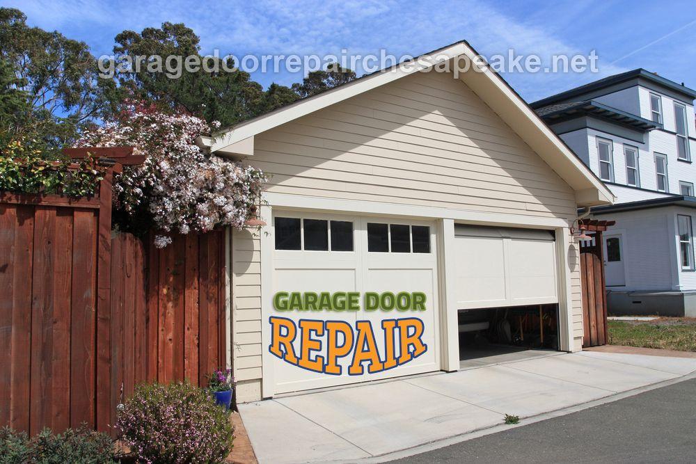 garage door repair installation in chesapeake va