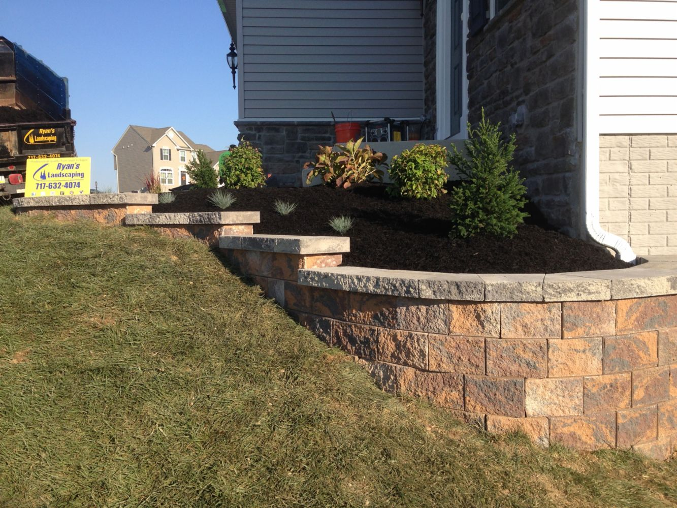 Landscape Architect Retaining Wall : Professional landscape and hardscape construction in