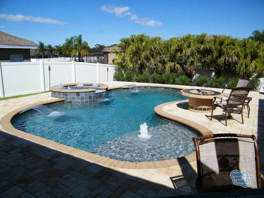 Pool design and construction in brandon fl tampa bay pools for Pool design tampa