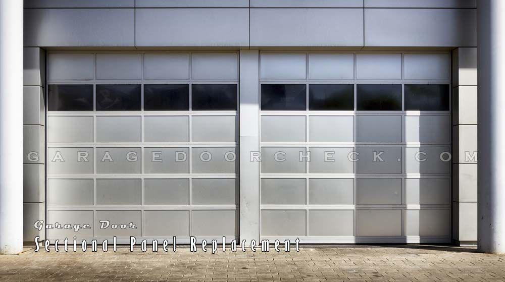 Sectional Garage Door Panel Replacement : Garage door repair installation in thousand oaks ca