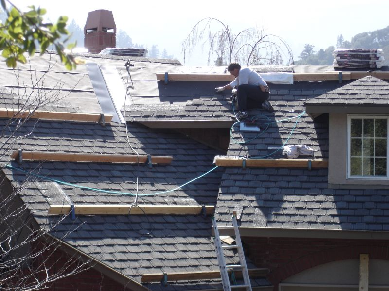 Installing Composition Shingles