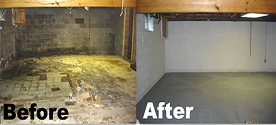 Water damage restoration in collegeville pa dry tech for How to clean smoke damage from painted walls