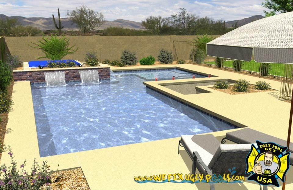Pool Remodeling And Repair In Peoria Az We Fix Ugly Pools