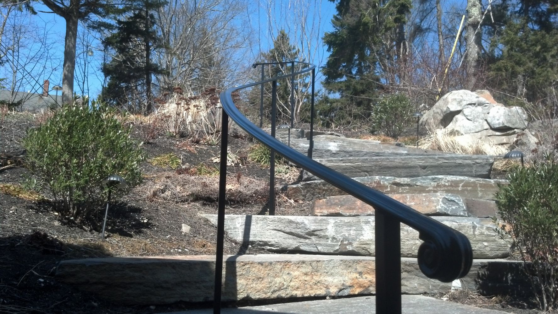Custom Ironwork In Waterville Me Mainely Handrails