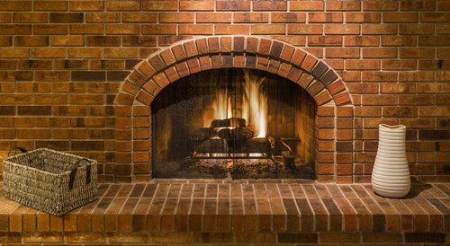 Brick vs Stone Fireplace - Pros, Cons, Comparisons and Costs