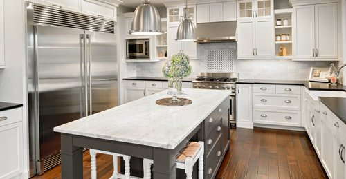 Kitchen island vs peninsula pros cons comparisons and - 10x10 kitchen designs with island ...