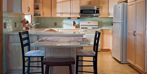 Kitchen Island Or Peninsula kitchen island vs peninsula - pros, cons, comparisons and costs