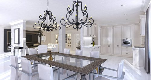Pendant vs chandelier pros cons comparisons and costs chandelier aloadofball Images